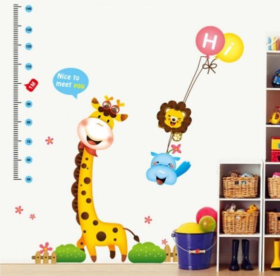 Le decorazioni camerette per rendere luminosa e colorata la stanza dei bambini